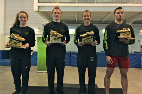 2012 GoldenSprint Challenge Invitational best male and female athletes