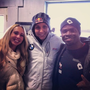Founders of the GoldenSprint Challenge Invitational with Lolo Jones